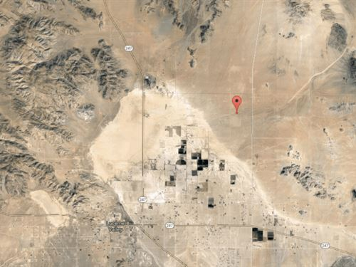5 Acres In Lucerne Valley, CA : Lucerne Valley : San Bernardino County : California