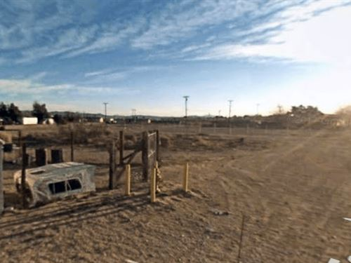.16 Acres In Barstow, CA : Barstow : San Bernardino County : California