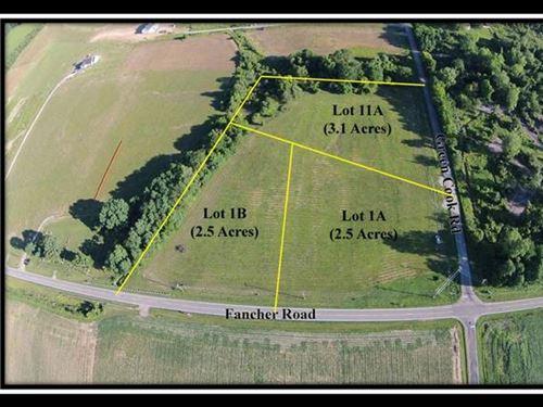 Great 2.5 Acre Corner Lot : New Albany : Delaware County : Ohio