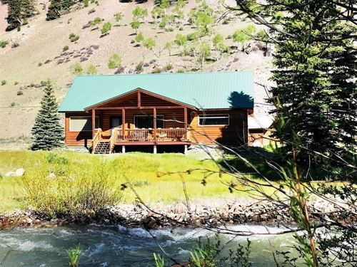 Affordable Riverfront Cabin : Lake City : Hinsdale County : Colorado