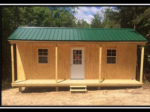 Amish Built Cabin On 11 Acres : Patriot : Gallia County : Ohio
