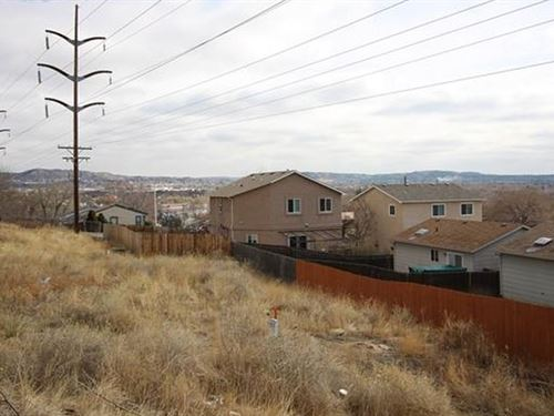Bargain Lot In Colorado Springs : Colorado Springs : El Paso County : Colorado