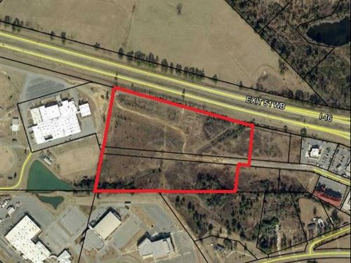 Commercial Land Off I-16 : Dublin : Laurens County : Georgia