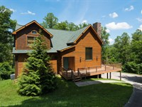 Log Home With Norris Lake Views : New Tazewell : Claiborne County : Tennessee