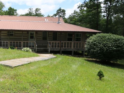 2Br Home, Shop, Creek And 22 Ac : Crossville : Cumberland County : Tennessee