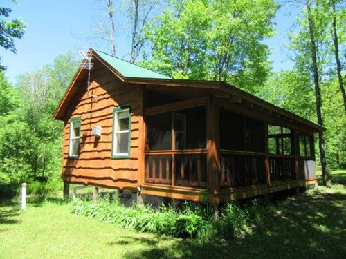 Cabin Near State Forest Florence Ny : Florence : Oneida County : New York
