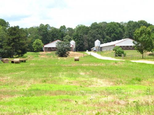 Mississippi Poultry Farm, 37 Acres, : Ellisville : Jones County : Mississippi