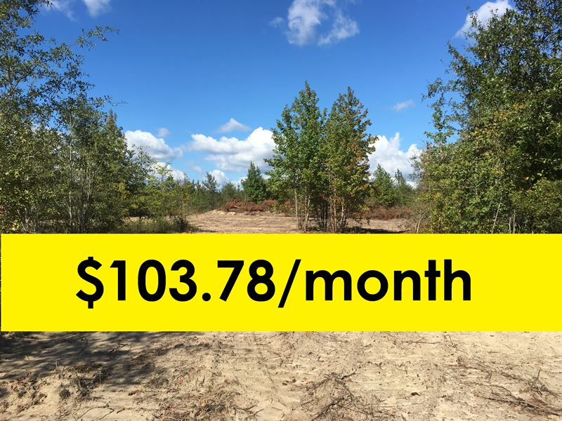Owner Financed With Home Site : Land for Sale by Owner