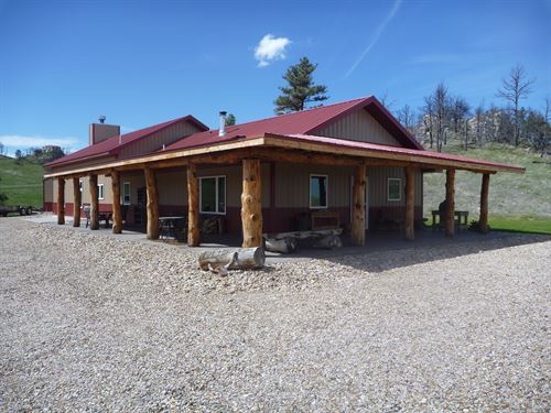 Williams Ranch House & 4 Acres : Rushville : Sheridan County : Nebraska