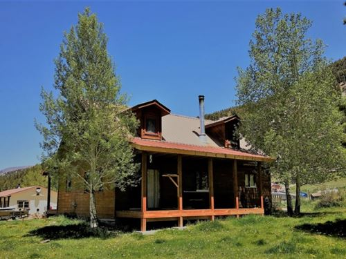 Cabin In Ball Flats : Lake City : Hinsdale County : Colorado