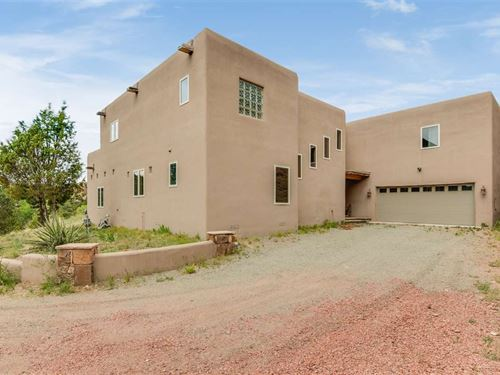 Bishops Lodge Road : Santa Fe : New Mexico