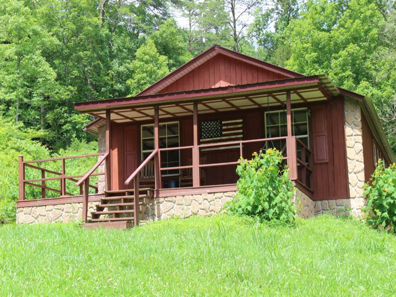 Secluded Cabin On Over 48 Acres : Sneedville : Hancock County : Tennessee