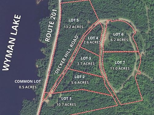 Lot 4 Decker Hill Road : Moscow : Somerset County : Maine