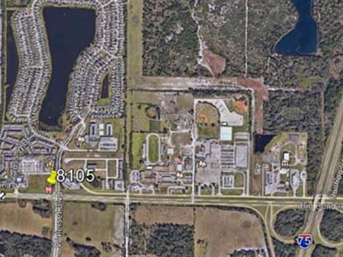 1.25+/- Acres Commercial Land : Gibsonton : Hillsborough County : Florida