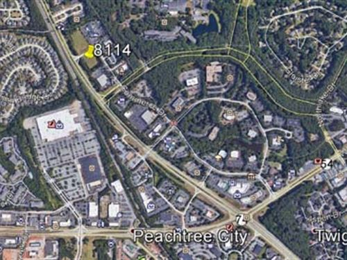 1.653+/- Acres Commercial Land : Peachtree City : Fayette County : Georgia