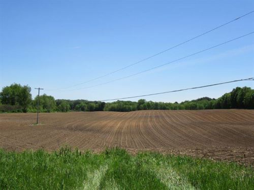 51 Acres Tillable Farmland River Ny : Annsville : Oneida County : New York