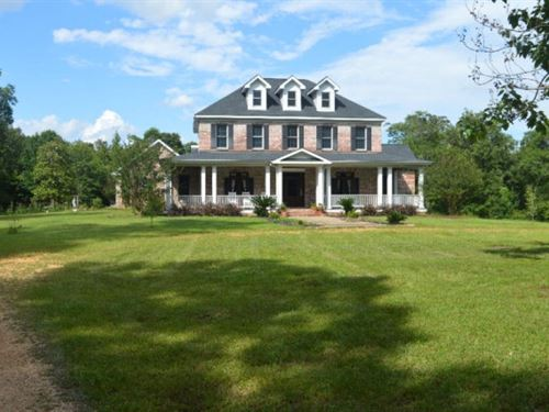 Large Rural Home For Sale Northern : McComb : Pike County : Mississippi
