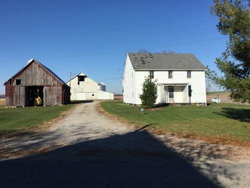 Grain Farm : Circleville : Pickaway County : Ohio