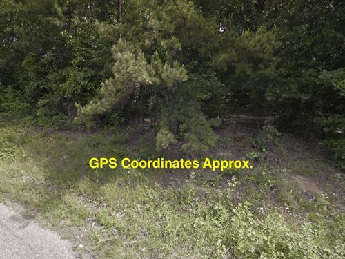.84 Acres- Monticello, Ar 71655 : Monticello : Drew County : Arkansas