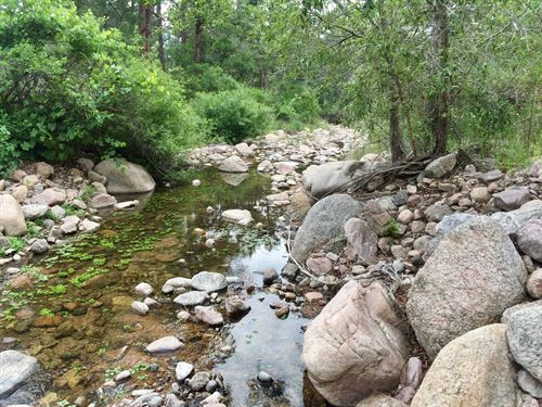 Rock Creek Acreage : Colorado Springs : El Paso County : Colorado