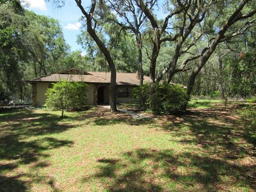 3/2 Home On 9.25 Acres 774054 : Chiefland : Levy County : Florida