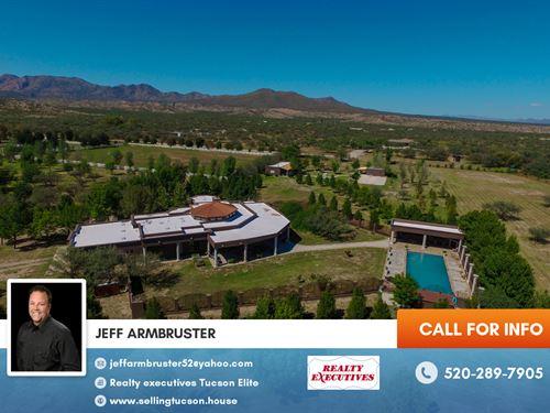 Luxury Equestrian Ranch For Sale : Benson : Cochise County : Arizona