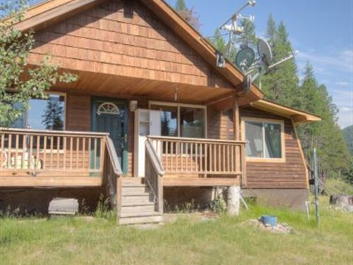 Yaak River Retreat : Yaak : Lincoln County : Montana