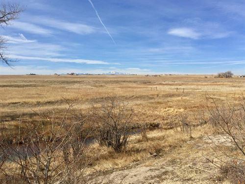 Coyote Crossing East Parcel : Peyton : El Paso County : Colorado