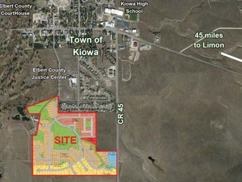 Kiowa Creek Meadows : Kiowa : Elbert County : Colorado