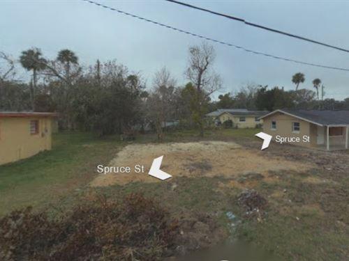 .11 Acres In Daytona Beach, FL : Daytona Beach : Volusia County : Florida