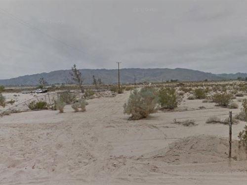 San Bernardino, Ca $22,000 Neg : Twentynine Palms : San Bernardino County : California