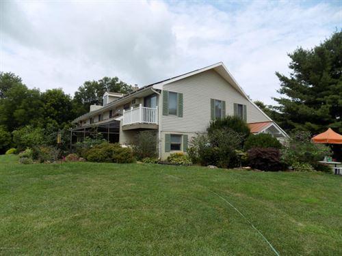 Organic Berry Farm W/Bed & Brkfast : Millstone : Monmouth County : New Jersey