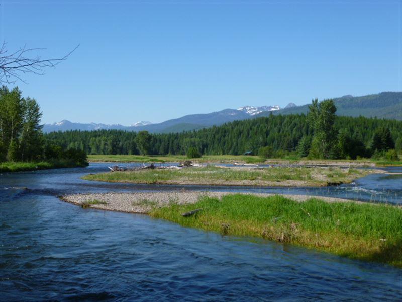 Swan River Rare Opportunity Western : Bigfork : Lake County : Montana