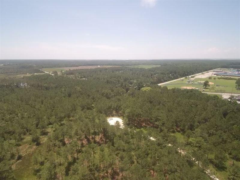 Waterfront Acreage On North River : Morehead City : Carteret County : North Carolina