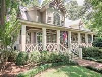 Custom Home & Guest House On 5 Acre : Eatonton : Putnam County : Georgia