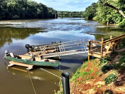 River Lot With Rv Hookup, Dock, Pav : Macon : Monroe County : Georgia