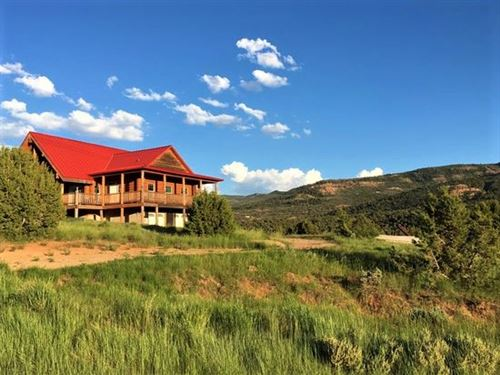 Beautiful Fruitland Home On 5.28 Ac : Fruitland : Duchesne County : Utah