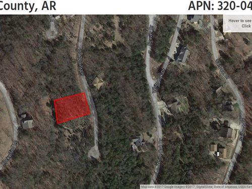 Lot Surrounded By Table Rock Lake : Eureka Springs : Carroll County : Arkansas
