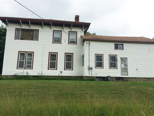 13 Acres House Village Of Angelica : Angelica : Allegany County : New York