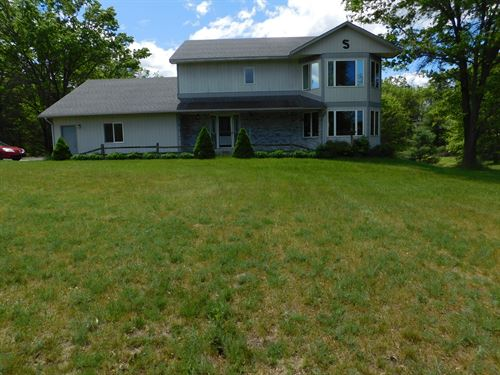 Home, Acreage, Commercial Bldg : Harrison : Clare County : Michigan
