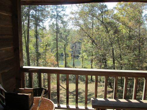 Private Riverfront Cabin Bargain : Juliette : Jones County : Georgia