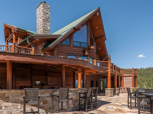 Log Elegance : Kalispell : Lake County : Montana