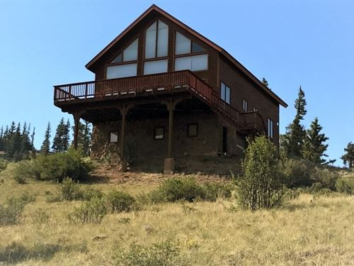 Kid Peak Cabin : Creede : Mineral County : Colorado