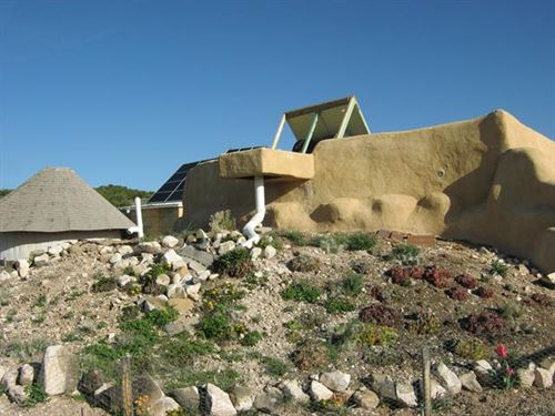 Unique Earthship Property On 5 : Carson : Taos County : New Mexico
