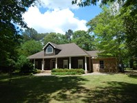 Secluded Home On 67.38 Acres : Osyka : Pike County : Mississippi