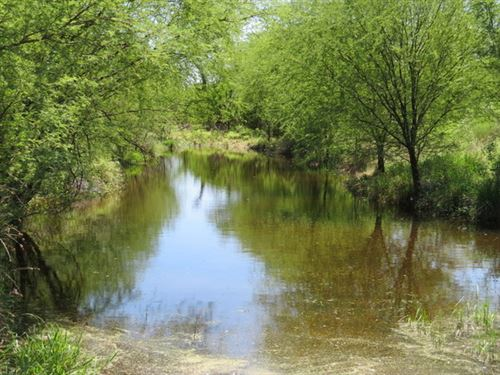 21 Acres With Creek : Brackettville : Kinney County : Texas