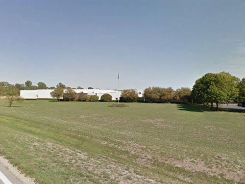 Industrial Mfg Bld Selling Absolute : Byron : Ogle County : Illinois