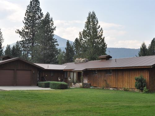 Lotawater Luxury Living : Noxon : Sanders County : Montana