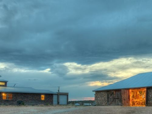 Gran Quivira Ranch : Mountainair : Torrance County : New Mexico