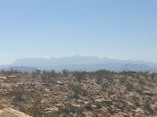 Ghost Town 30 Acres. : Terlingua : Brewster County : Texas